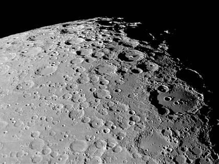 Moretus and Clavius craters, 19 March 2005.