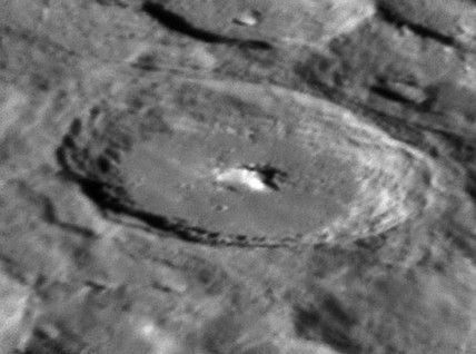 Moretus Crater, 20 February 2005.