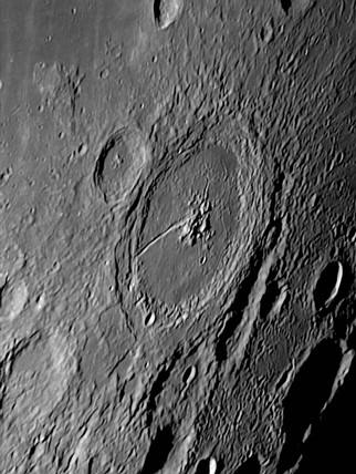 Petavius Crater, 17 November 2005.