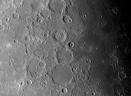 Ptolemaeus, Alphonsus and Arzachel Craters, 19 March 2005.