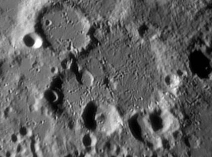 Sasserides Crater, 19 March 2004.