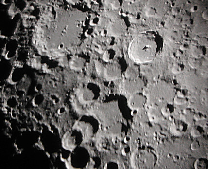 Tycho Crater, 28 October 2002.