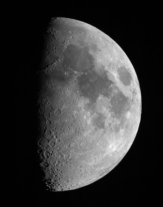 Gibbous Moon, 18 March 2005.