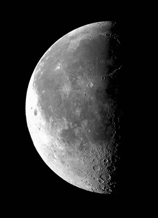 Last Quarter Moon, 18 October 2003.