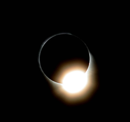 The Diamond Ring, total eclipse of the Sun, Turkey, 29 March 2006.