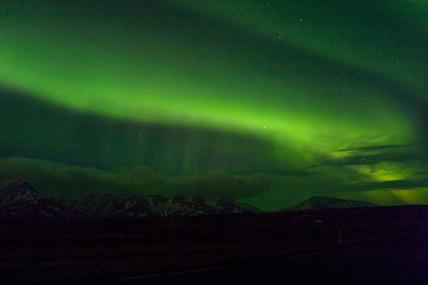 Aurora Borealis, Iceland, 13 March 2005.