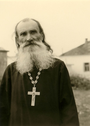 Orthodox priest, Balkans, Second World War, 1940s.
