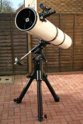 Newtonian telescope, 2005.