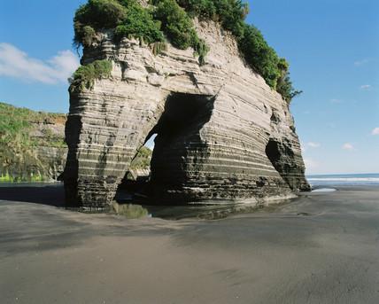 Elephant Rock, Tongaporutu River, New Zealand, 1995.