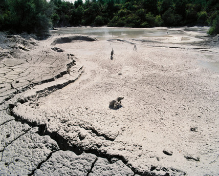 Mud pools, Waiotapu, New Zealand, 1993.