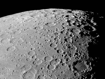 Lunar South Pole, 27 May 2004.