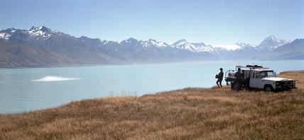Lake Pukaki, New Zealand, 1995.