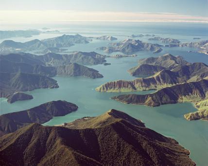 Pelorus Sound, South Island, New Zealand, 1987.