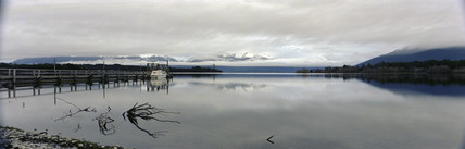 Lake Te Anau, New Zealand, 1981.