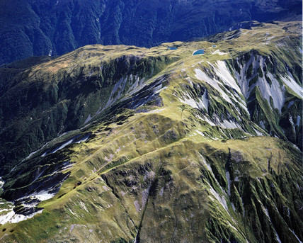 Fault lines, New Zealand.
