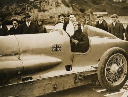 'Napier-Campbell Bluebird', Pendine Sands, Wales, 1927.