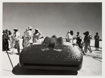 'Bluebird', Bonneville Salt Flats, Utah, USA, 1935.