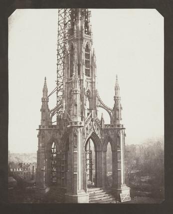 Sir Walter Scott's Monument, Edinburgh, Mid-October 1844.