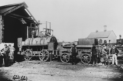 The Springwell Colliery Engine No 2, County Durham, 19th century.
