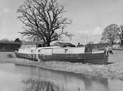 Packet boat on the Shropshire Union Canal.