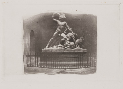 Statue of 'Theseus and the Centaur', c 1853.