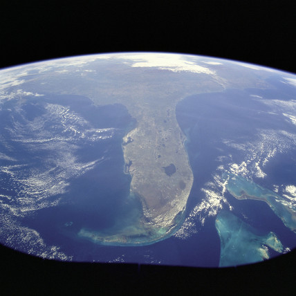 Florida peninsula, USA, 31 October 1998.