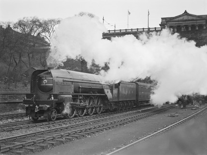 LNER steam locomotive 'Cock O' The North', c 1930s.