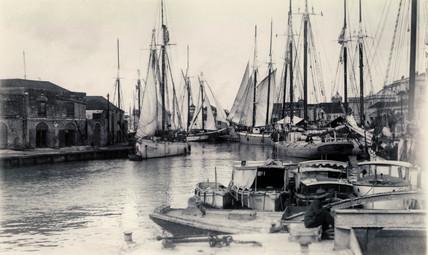 Harbour, West Indies, 19th century.