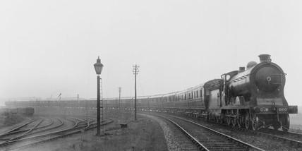Caledonian Railway passenger train.