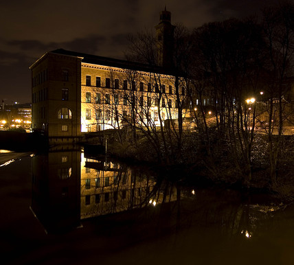 Salt's Mill, Saltaire, West Yorkshire, 2007.