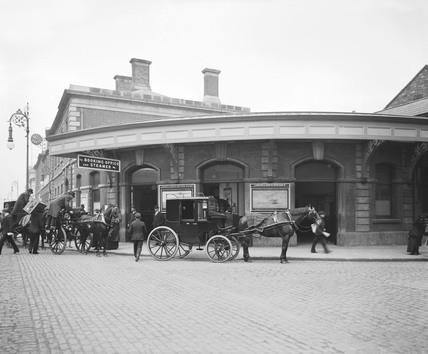 North Wall station, Dublin, c 1906.