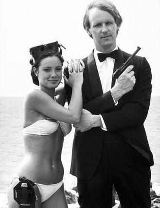 Peter Davison and Nicola Bryant, 21 October 1983.