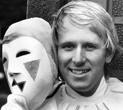 Peter Davison as the new 'Doctor Who', 1981.