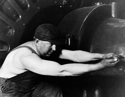 'Powerhouse Mechanic', USA, 1920.