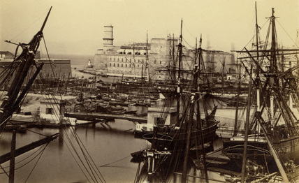 Harbour, 19th century.