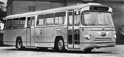 Anglo-Danish bus, June 1966.