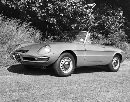 Alfa Romeo 1750 Spider Veloce, June 1969.