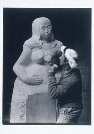 Jacob Epstein, c 1930s.