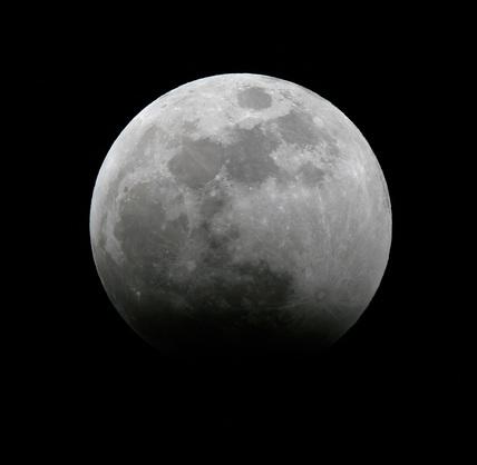 Lunar eclipse, 3 March 2007.