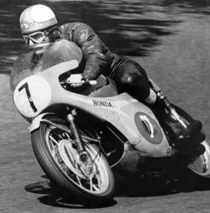 TT motorcycle race, Isle of Man, June 1967.