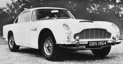 Aston Martin DB5, September 1963.