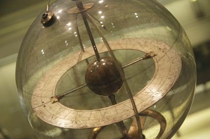 Mechanised glass celestial globe, 1742-1750.