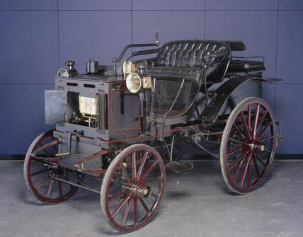 Panhard Levassor 4 hp motor car, c 1894-1895.