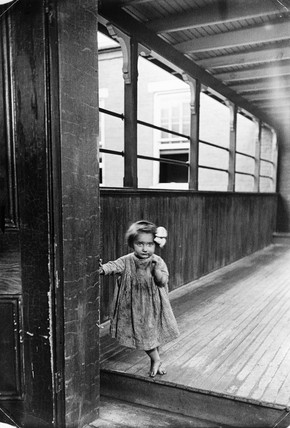 Small girl, USA, c 1910s.