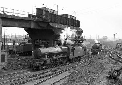 Edge Hill coaling plant, Liverpool, mid 1950s.