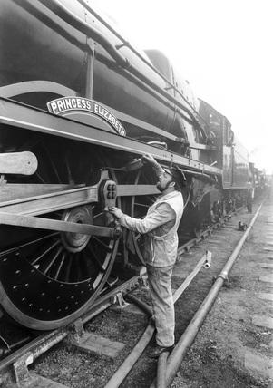 'Princess Elizabeth' steam locomotive, May 1980.