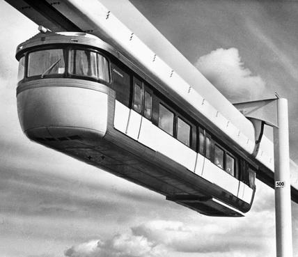 Monorail, January 1966.
