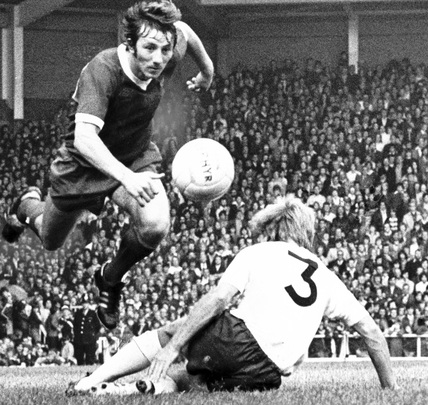 Liverpool v Spurs, 19 September 1976.