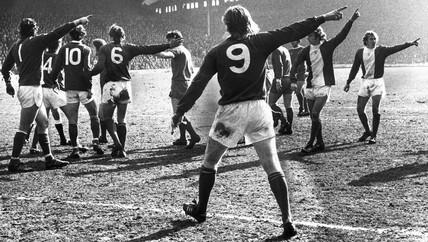 Liverpool v Birmingham City, 31 March 1975.