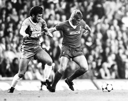 Liverpool v Middlesbrough, 17 September 1981.